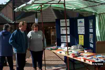 Photo of the South Marr CSG Stand at the Banchory Show