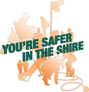 You're Safert In the Shire logo