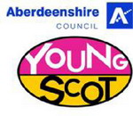 Young Scot/Aberdeenshire Council logo